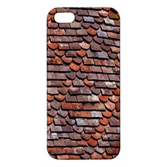 Roof Tiles On A Country House Apple Iphone 5 Premium Hardshell Case by Amaryn4rt