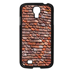 Roof Tiles On A Country House Samsung Galaxy S4 I9500/ I9505 Case (black) by Amaryn4rt