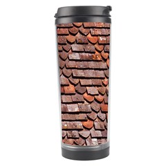 Roof Tiles On A Country House Travel Tumbler by Amaryn4rt