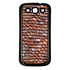 Roof Tiles On A Country House Samsung Galaxy S3 Back Case (black) by Amaryn4rt