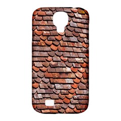 Roof Tiles On A Country House Samsung Galaxy S4 Classic Hardshell Case (pc+silicone) by Amaryn4rt