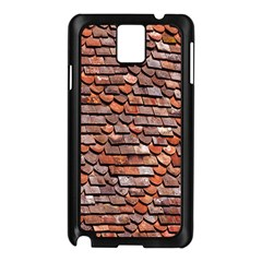 Roof Tiles On A Country House Samsung Galaxy Note 3 N9005 Case (black) by Amaryn4rt