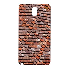 Roof Tiles On A Country House Samsung Galaxy Note 3 N9005 Hardshell Back Case by Amaryn4rt