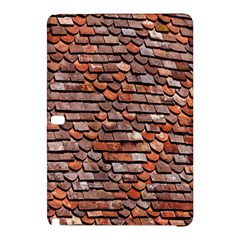 Roof Tiles On A Country House Samsung Galaxy Tab Pro 10 1 Hardshell Case by Amaryn4rt