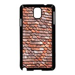 Roof Tiles On A Country House Samsung Galaxy Note 3 Neo Hardshell Case (Black) Front