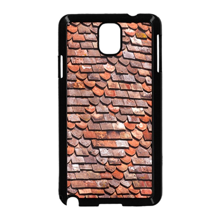 Roof Tiles On A Country House Samsung Galaxy Note 3 Neo Hardshell Case (Black)
