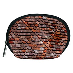 Roof Tiles On A Country House Accessory Pouches (medium)  by Amaryn4rt