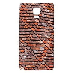 Roof Tiles On A Country House Galaxy Note 4 Back Case by Amaryn4rt