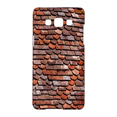 Roof Tiles On A Country House Samsung Galaxy A5 Hardshell Case  by Amaryn4rt