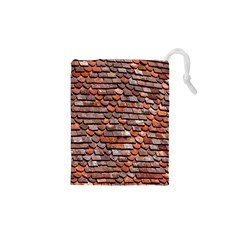 Roof Tiles On A Country House Drawstring Pouches (xs)  by Amaryn4rt