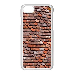 Roof Tiles On A Country House Apple Iphone 7 Seamless Case (white) by Amaryn4rt