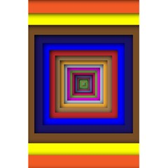 Square Abstract Geometric Art 5 5  X 8 5  Notebooks