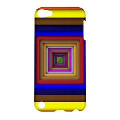 Square Abstract Geometric Art Apple Ipod Touch 5 Hardshell Case by Amaryn4rt
