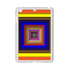Square Abstract Geometric Art Ipad Mini 2 Enamel Coated Cases by Amaryn4rt