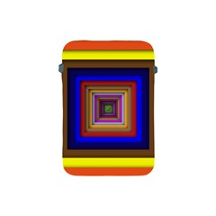 Square Abstract Geometric Art Apple Ipad Mini Protective Soft Cases by Amaryn4rt