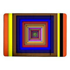 Square Abstract Geometric Art Samsung Galaxy Tab Pro 10 1  Flip Case by Amaryn4rt