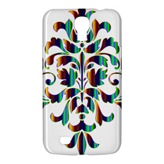 Damask Decorative Ornamental Samsung Galaxy Mega 6 3  I9200 Hardshell Case by Amaryn4rt