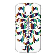 Damask Decorative Ornamental Samsung Galaxy S4 Classic Hardshell Case (pc+silicone) by Amaryn4rt