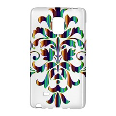 Damask Decorative Ornamental Galaxy Note Edge by Amaryn4rt