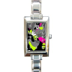 Nameless Fantasy Rectangle Italian Charm Watch by Amaryn4rt