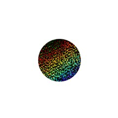 Construction Paper Iridescent 1  Mini Magnets by Amaryn4rt