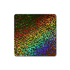Construction Paper Iridescent Square Magnet by Amaryn4rt