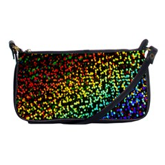 Construction Paper Iridescent Shoulder Clutch Bags by Amaryn4rt