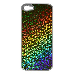 Construction Paper Iridescent Apple Iphone 5 Case (silver)