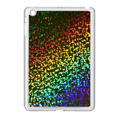 Construction Paper Iridescent Apple Ipad Mini Case (white) by Amaryn4rt