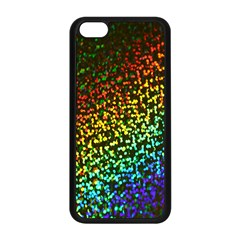 Construction Paper Iridescent Apple Iphone 5c Seamless Case (black) by Amaryn4rt