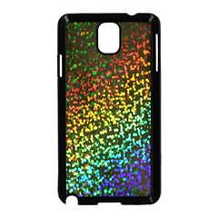 Construction Paper Iridescent Samsung Galaxy Note 3 Neo Hardshell Case (black) by Amaryn4rt