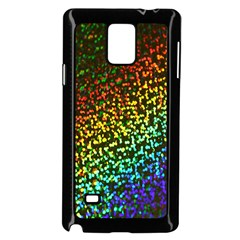 Construction Paper Iridescent Samsung Galaxy Note 4 Case (black) by Amaryn4rt