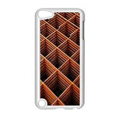 Metal Grid Framework Creates An Abstract Apple Ipod Touch 5 Case (white) by Amaryn4rt
