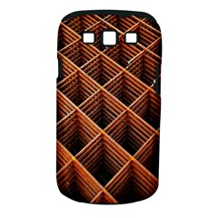 Metal Grid Framework Creates An Abstract Samsung Galaxy S Iii Classic Hardshell Case (pc+silicone) by Amaryn4rt