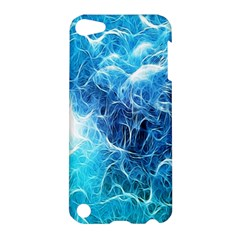 Fractal Occean Waves Artistic Background Apple Ipod Touch 5 Hardshell Case by Amaryn4rt