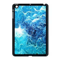 Fractal Occean Waves Artistic Background Apple Ipad Mini Case (black) by Amaryn4rt