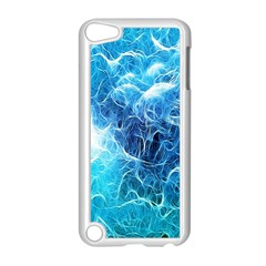 Fractal Occean Waves Artistic Background Apple Ipod Touch 5 Case (white) by Amaryn4rt