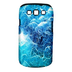 Fractal Occean Waves Artistic Background Samsung Galaxy S Iii Classic Hardshell Case (pc+silicone) by Amaryn4rt