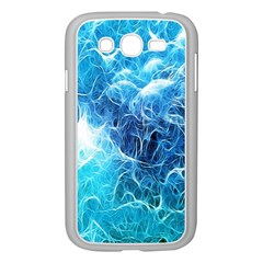Fractal Occean Waves Artistic Background Samsung Galaxy Grand Duos I9082 Case (white) by Amaryn4rt