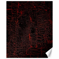 Black And Red Background Canvas 11  X 14