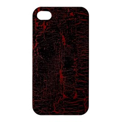 Black And Red Background Apple Iphone 4/4s Premium Hardshell Case by Amaryn4rt