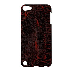 Black And Red Background Apple Ipod Touch 5 Hardshell Case by Amaryn4rt