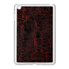 Black And Red Background Apple Ipad Mini Case (white) by Amaryn4rt