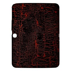 Black And Red Background Samsung Galaxy Tab 3 (10 1 ) P5200 Hardshell Case  by Amaryn4rt