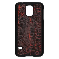 Black And Red Background Samsung Galaxy S5 Case (black)