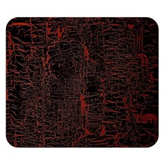 Black And Red Background Double Sided Flano Blanket (small)  by Amaryn4rt