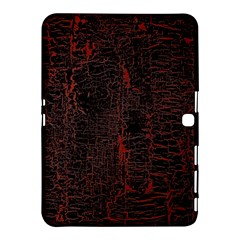 Black And Red Background Samsung Galaxy Tab 4 (10 1 ) Hardshell Case  by Amaryn4rt