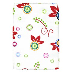 Colorful Floral Wallpaper Background Pattern Flap Covers (s)