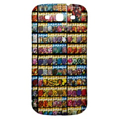 Flower Seeds For Sale At Garden Center Pattern Samsung Galaxy S3 S Iii Classic Hardshell Back Case by Amaryn4rt