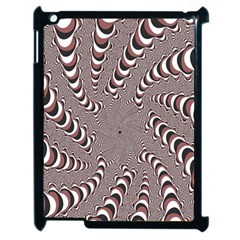 Digital Fractal Pattern Apple Ipad 2 Case (black) by Amaryn4rt